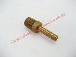 1/4 NPT Brass Barb Fitting 1/4 (6.3mm)