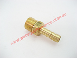 3/8 NPT Brass Barb Fitting 5/16 (8mm)