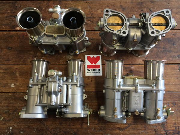 GT40 302 48 IDA carburettors restored